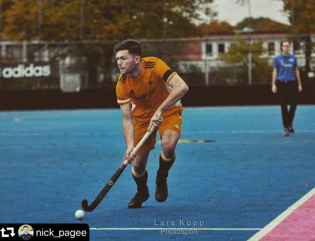 Voodoo player Nick Page going strong! 🚀🤜🏻🤛🏻 #repost @nick_pagee ・・・ Lots of lessons learnt. First half of the season ✔ 📸: @lars.kopp.photosport