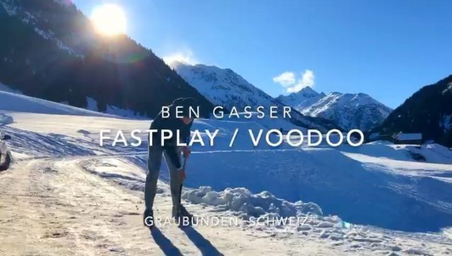 Young #voodooplayer @ben_.32 showing off his skills!🔥😜 #voodoohockey / @fastplay.ch